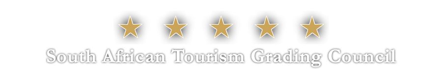 5 Star Accommodation Grading by the South African Tourism Grading Council for a Country House